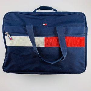 VTG Tommy Hilfiger Colorblock Duffle Weekender Bag